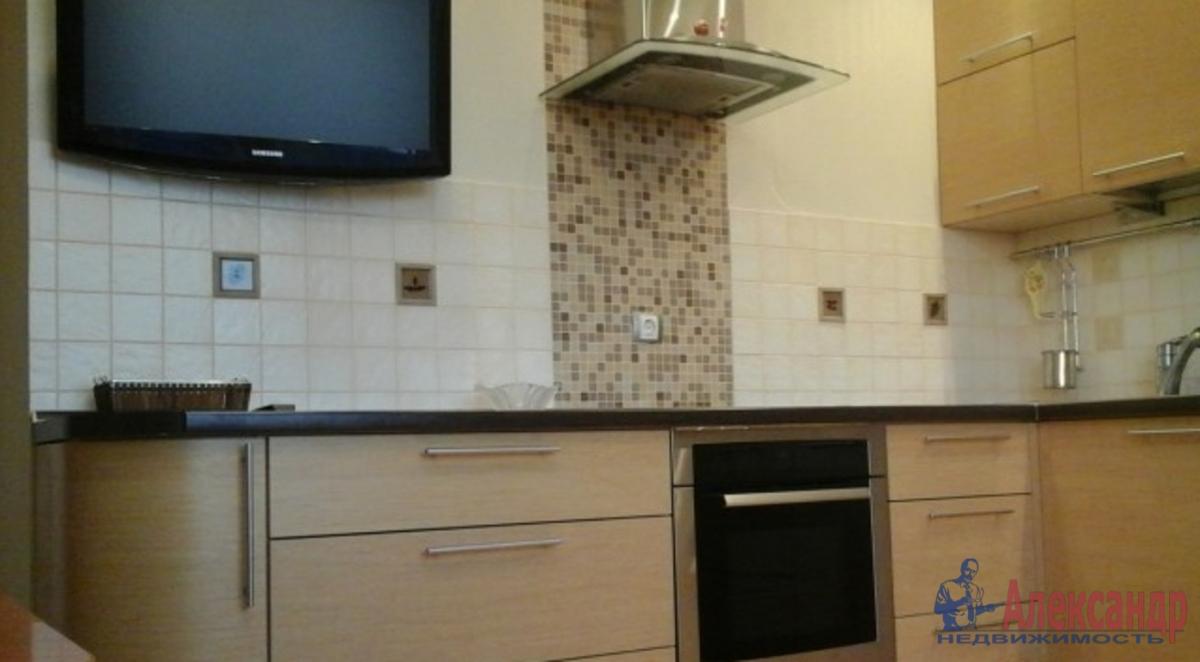 2-комнатная квартира (70м2) в аренду по адресу Лыжный пер., 4— фото 3 из 3