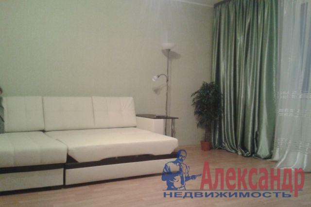 1-комнатная квартира (46м2) в аренду по адресу Дунайский пр., 55— фото 1 из 2