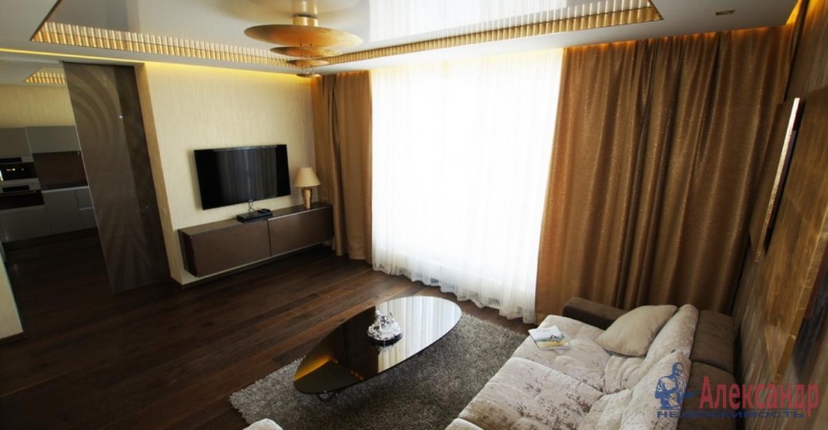 2-комнатная квартира (57м2) в аренду по адресу Юрия Гагарина просп., 7— фото 1 из 3