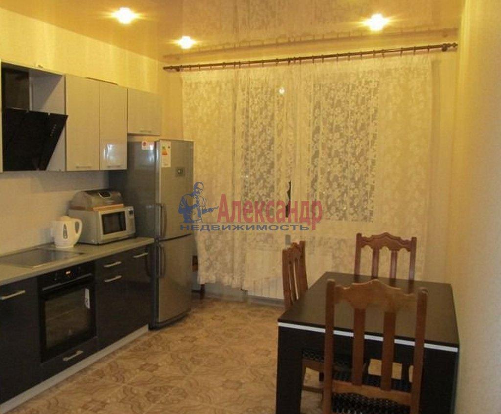1-комнатная квартира (43м2) в аренду по адресу Просвещения пр., 46— фото 2 из 2