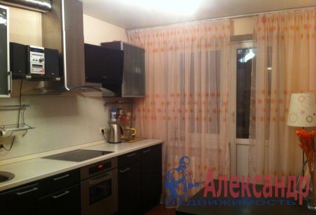 1-комнатная квартира (35м2) в аренду по адресу Коллонтай ул., 6— фото 2 из 2