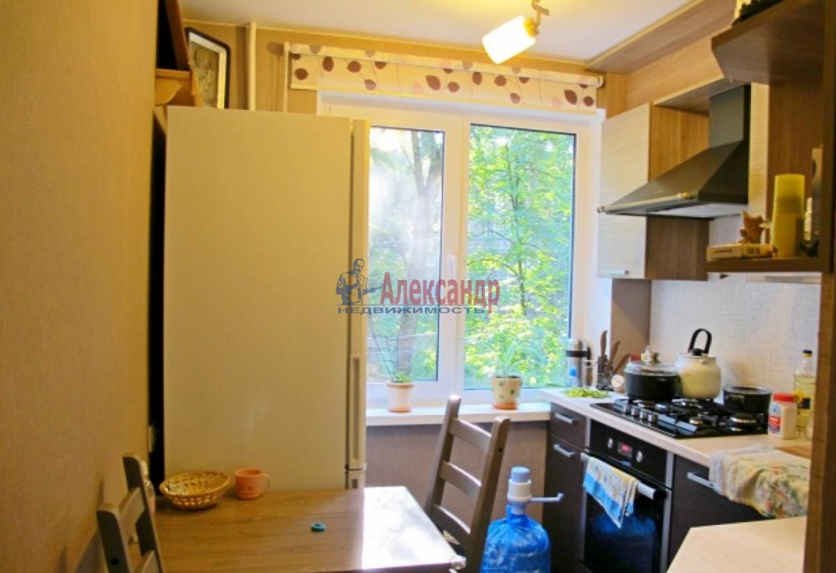 1-комнатная квартира (38м2) в аренду по адресу Ленинский пр., 96— фото 4 из 4