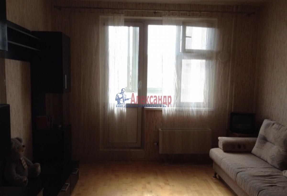 1-комнатная квартира (48м2) в аренду по адресу Народного Ополчения пр., 181— фото 3 из 9