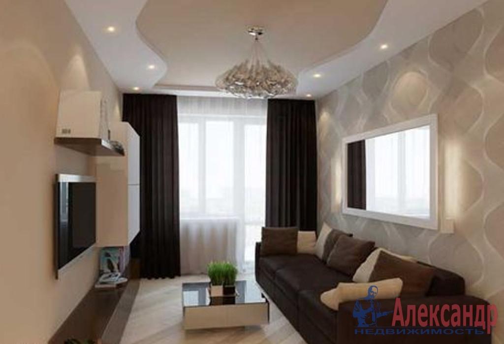 1-комнатная квартира (45м2) в аренду по адресу Красуцкого ул., 3— фото 1 из 3