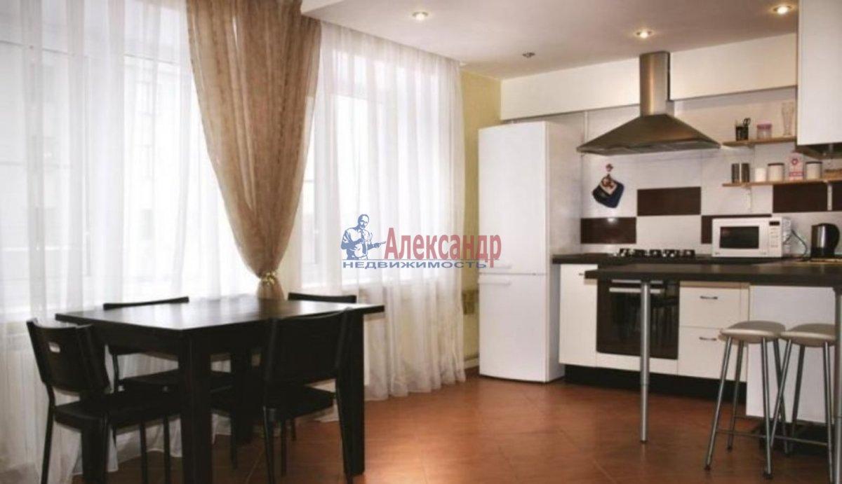 1-комнатная квартира (46м2) в аренду по адресу Просвещения пр., 99— фото 1 из 3