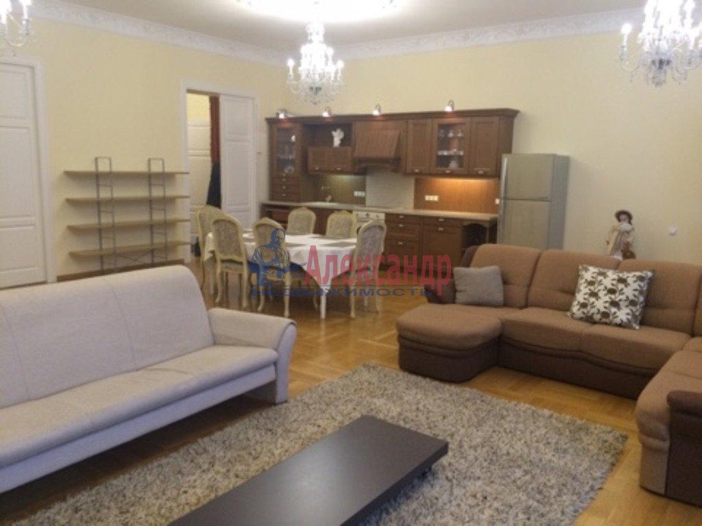 3-комнатная квартира (180м2) в аренду по адресу Конногвардейский бул., 6— фото 2 из 9