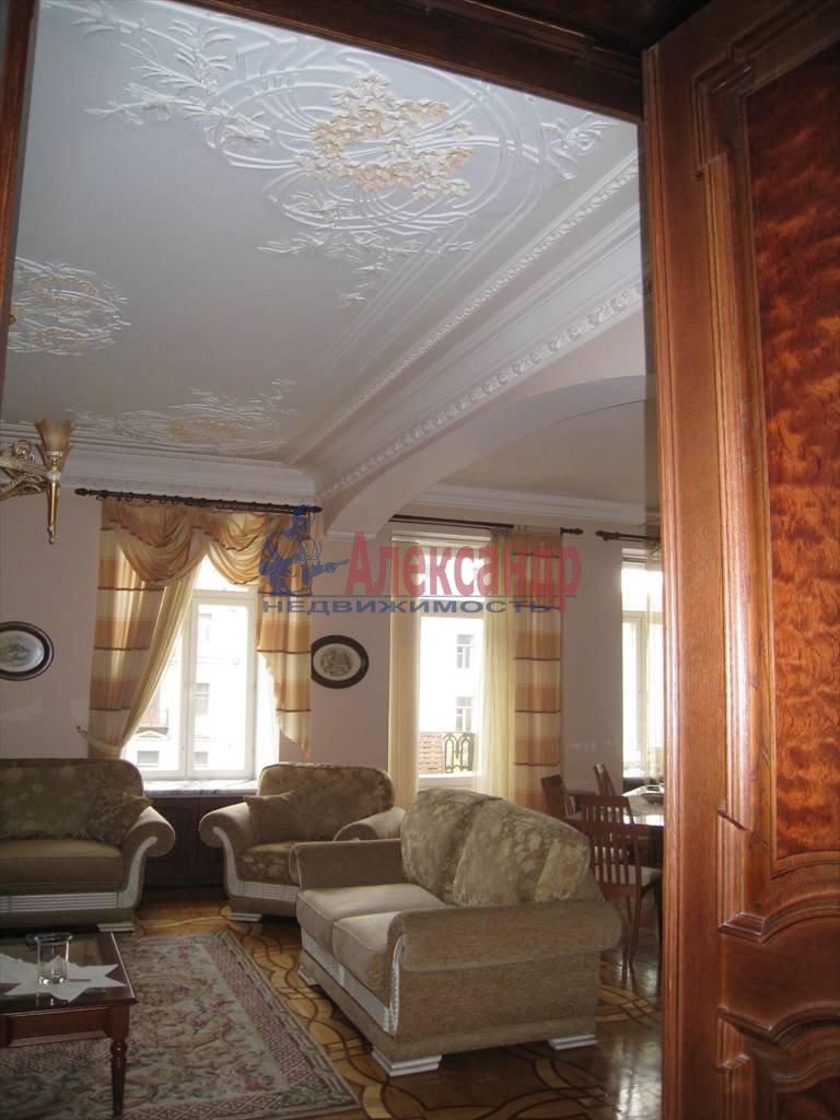5-комнатная квартира (206м2) в аренду по адресу Канала Грибоедова наб., 19— фото 8 из 10