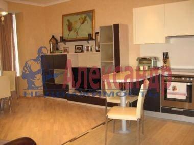 1-комнатная квартира (42м2) в аренду по адресу Коллонтай ул., 17— фото 1 из 7