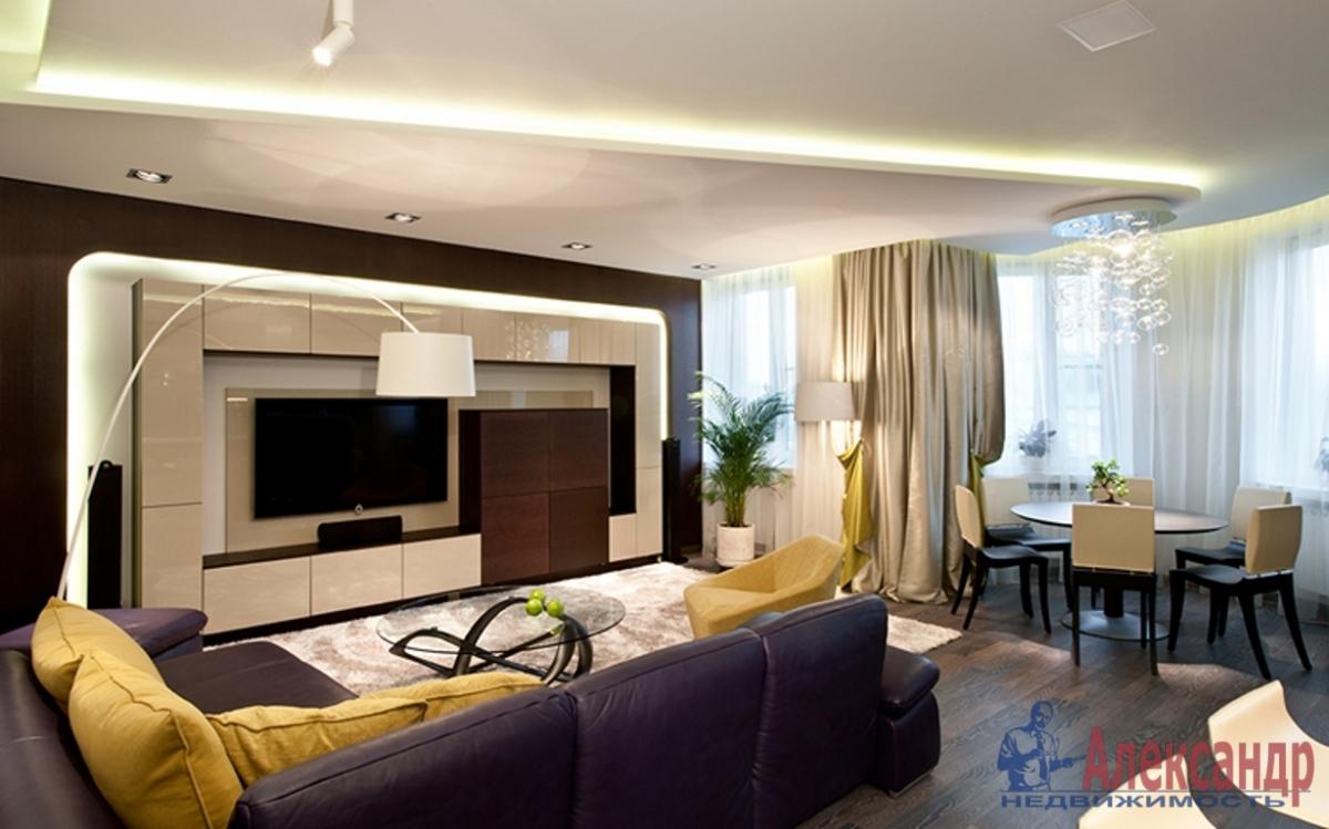 3-комнатная квартира (165м2) в аренду по адресу Мичуринская ул., 6— фото 1 из 4