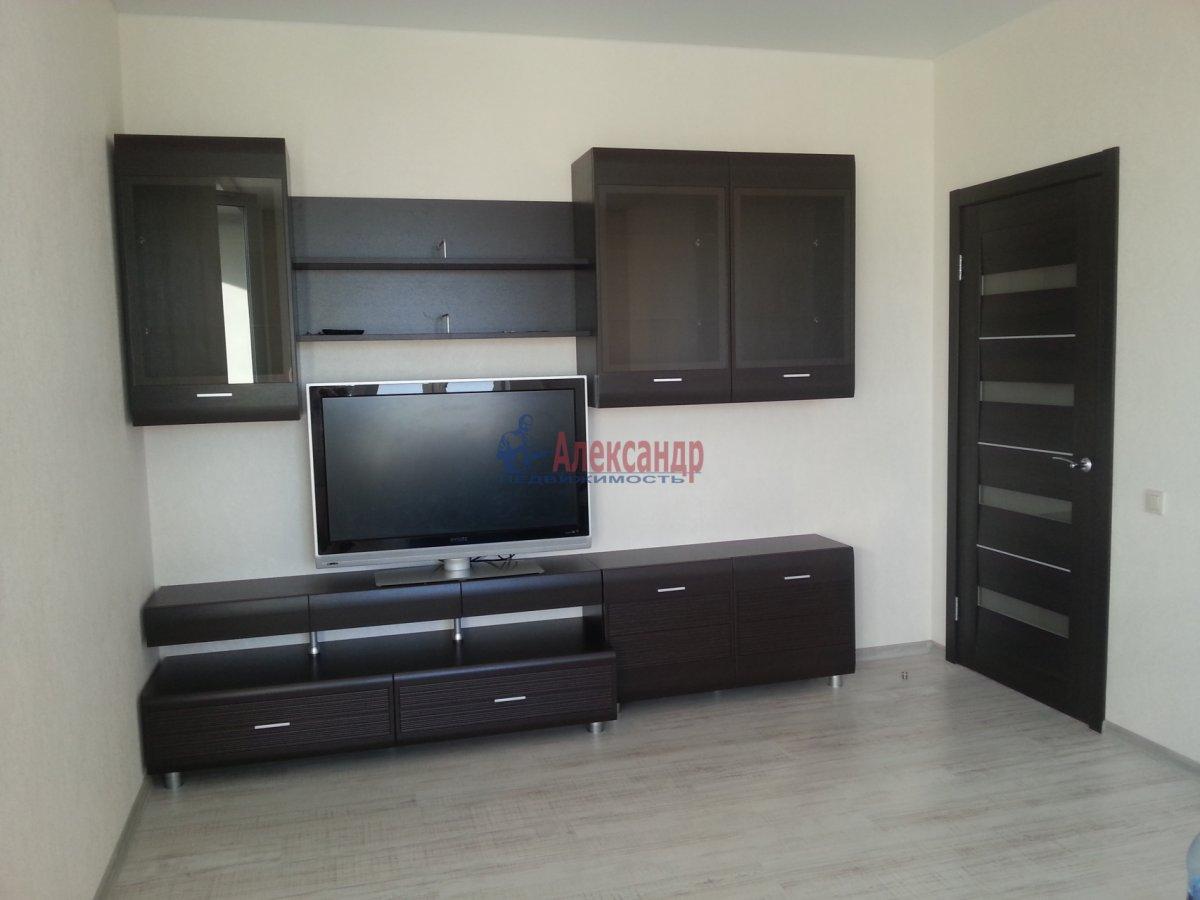 1-комнатная квартира (48м2) в аренду по адресу Дыбенко ул., 11— фото 1 из 10