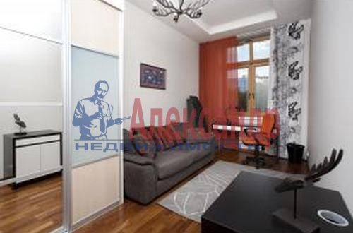 3-комнатная квартира (89м2) в аренду по адресу Морской пр., 33— фото 4 из 9
