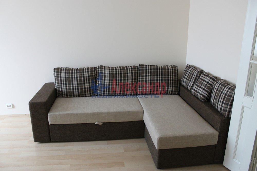 1-комнатная квартира (43м2) в аренду по адресу Композиторов ул., 12— фото 16 из 18