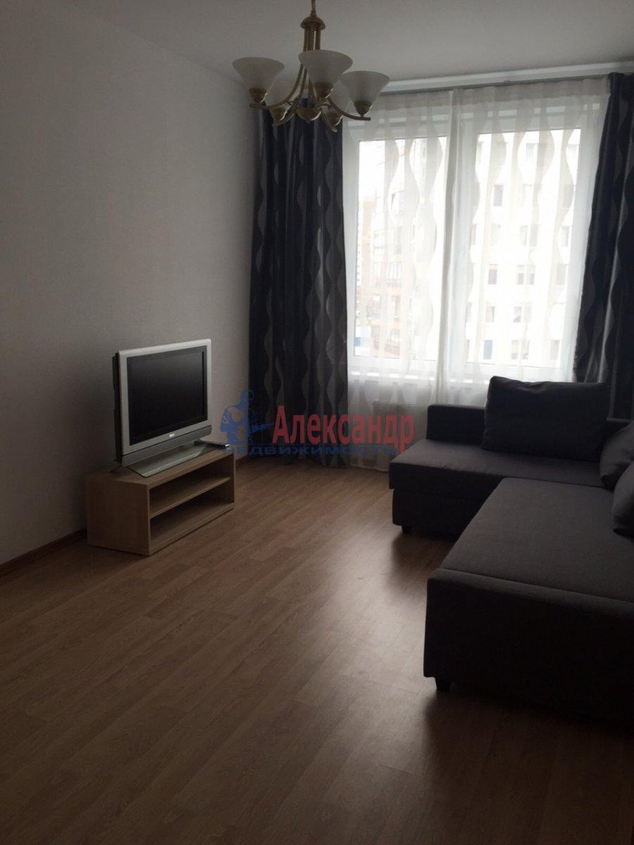 1-комнатная квартира (39м2) в аренду по адресу Туристская ул., 22— фото 1 из 7