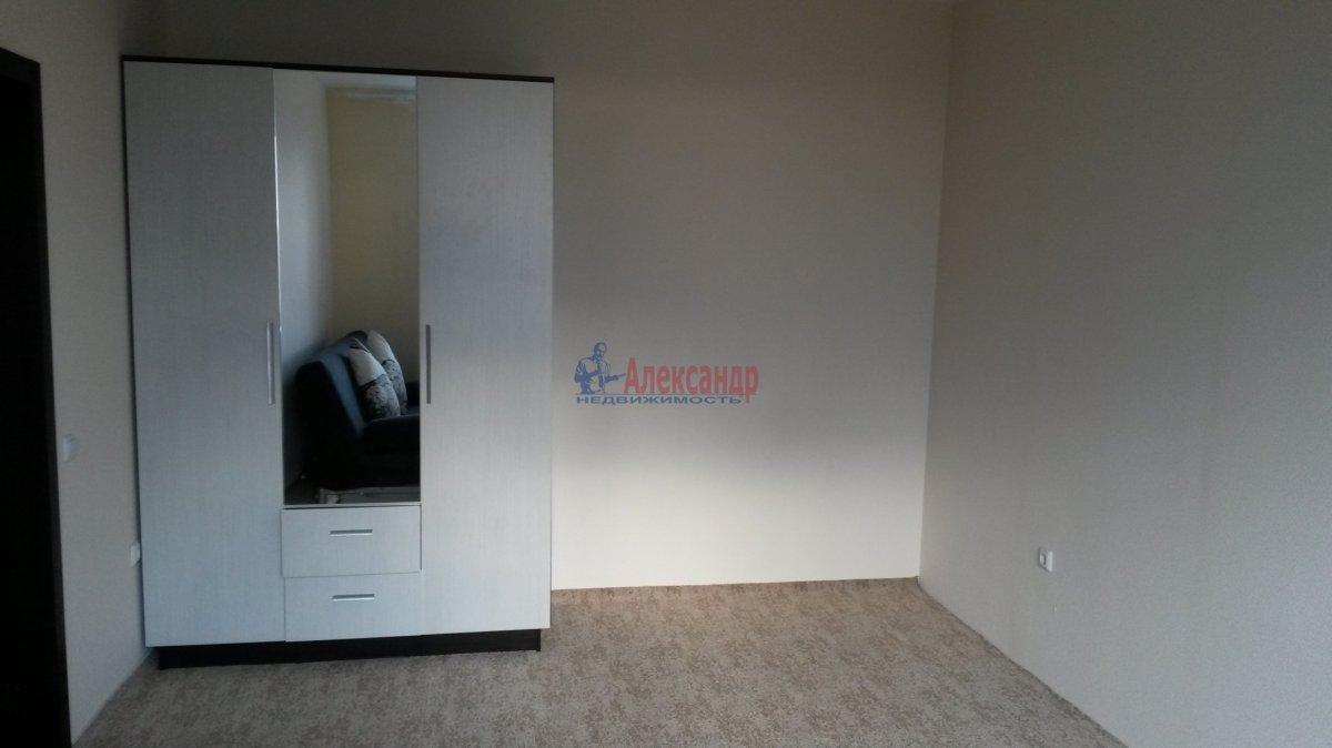 1-комнатная квартира (38м2) в аренду по адресу Кудрово дер., Областная ул., 1— фото 4 из 6