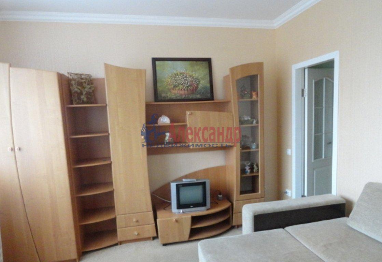 1-комнатная квартира (45м2) в аренду по адресу Парголово пос., Валерия Гаврилина ул., 8— фото 1 из 3