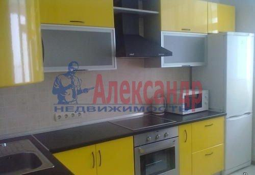 1-комнатная квартира (41м2) в аренду по адресу Ленинский пр., 77— фото 1 из 5