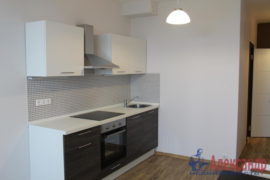 1-комнатная квартира (44м2) в аренду по адресу Мурино пос., Привокзальная пл., 3— фото 1 из 11