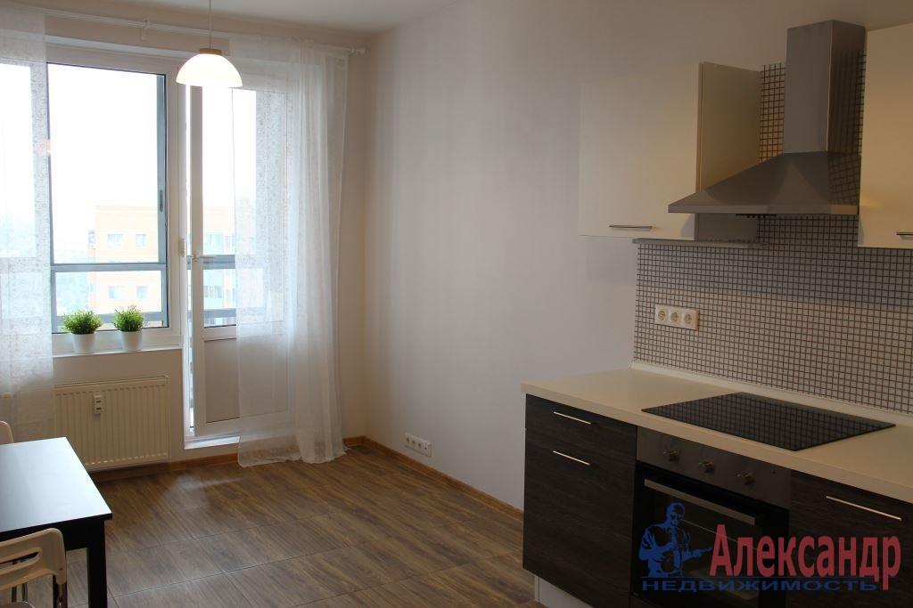 1-комнатная квартира (44м2) в аренду по адресу Мурино пос., Привокзальная пл., 3— фото 3 из 11