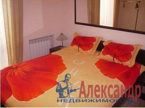 2-комнатная квартира (60м2) в аренду по адресу Космонавтов просп., 65— фото 5 из 6