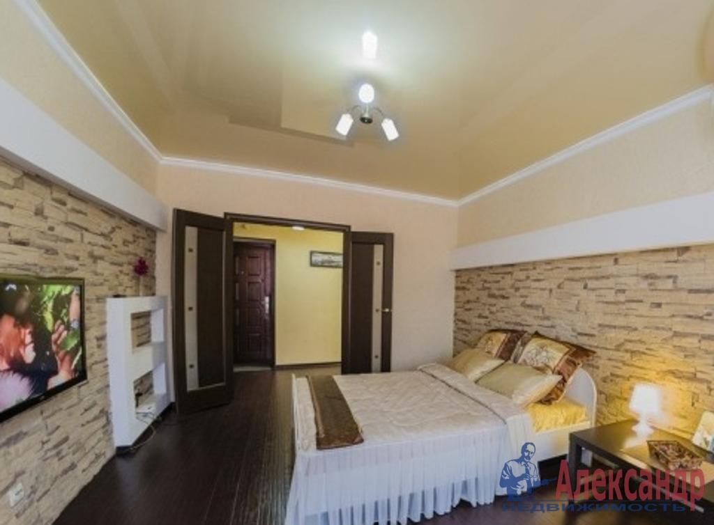 1-комнатная квартира (42м2) в аренду по адресу Варшавская ул., 6— фото 1 из 6