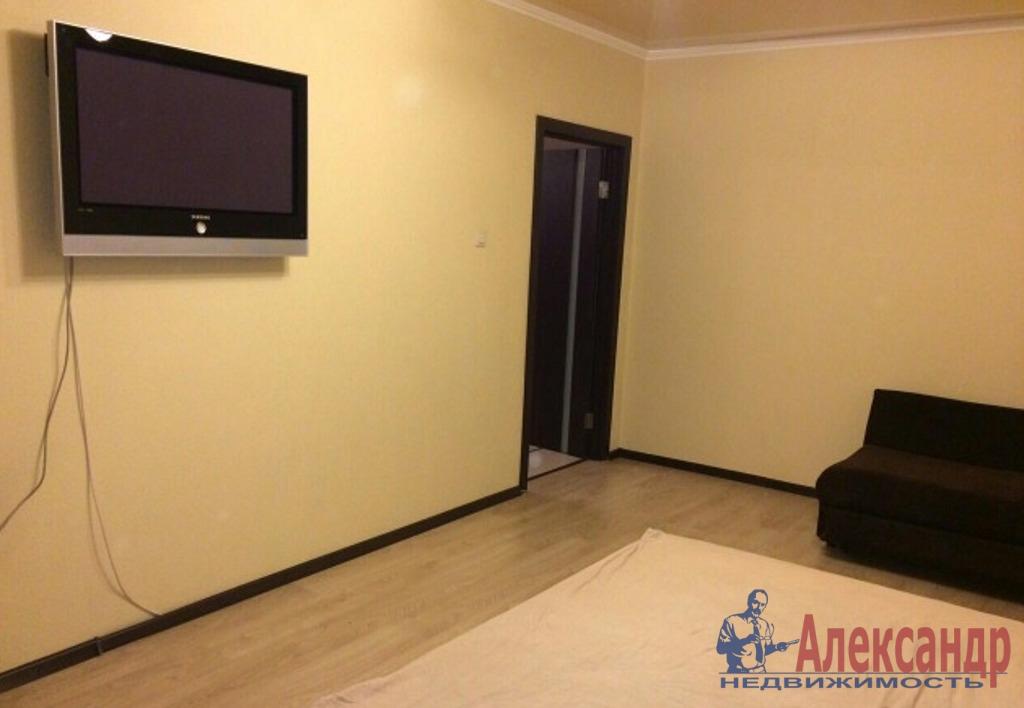 1-комнатная квартира (38м2) в аренду по адресу Есенина ул., 1— фото 1 из 3