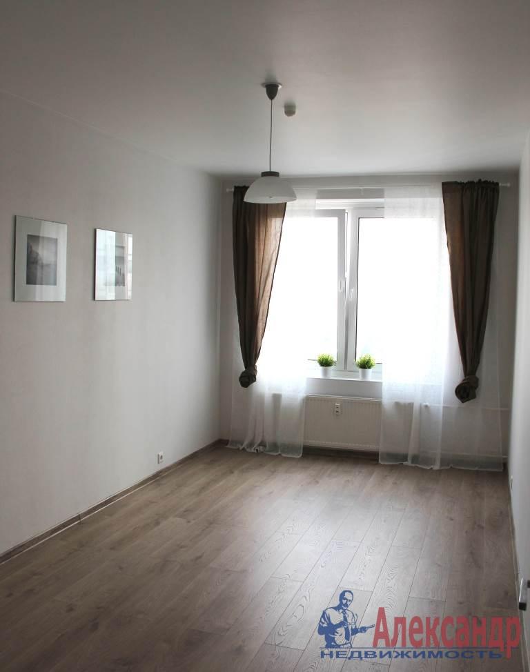 1-комнатная квартира (44м2) в аренду по адресу Мурино пос., Привокзальная пл., 3— фото 8 из 11