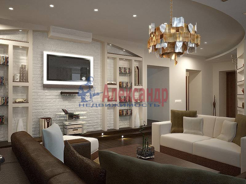 5-комнатная квартира (180м2) в аренду по адресу Московский просп.— фото 2 из 5