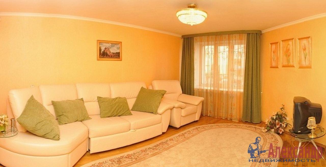 2-комнатная квартира (53м2) в аренду по адресу Московский просп., 191— фото 1 из 4