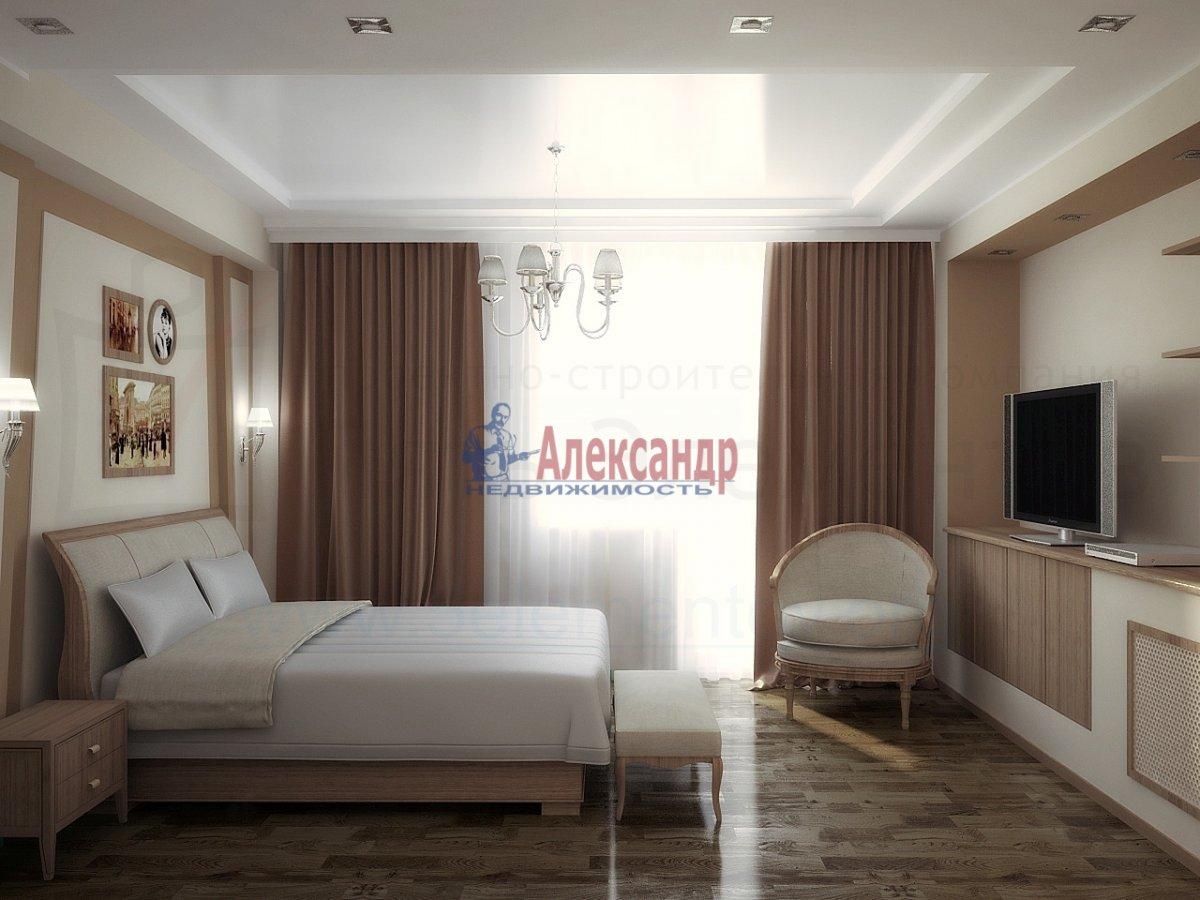 1-комнатная квартира (45м2) в аренду по адресу Союзный пр., 4— фото 2 из 2