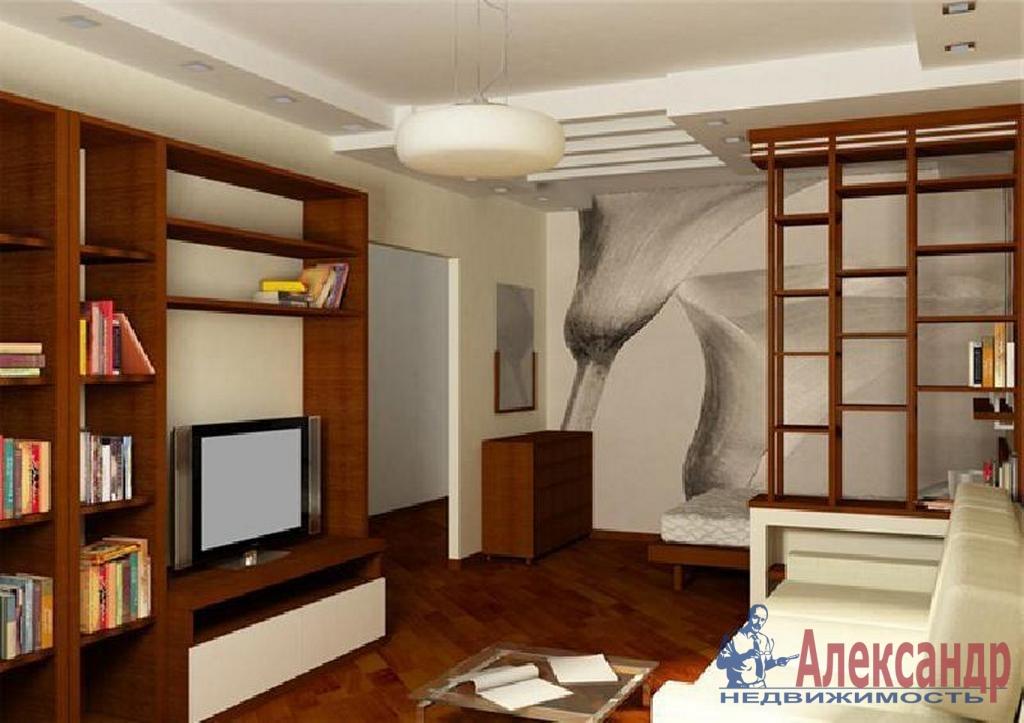 1-комнатная квартира (41м2) в аренду по адресу Бассейная ул., 73— фото 1 из 2
