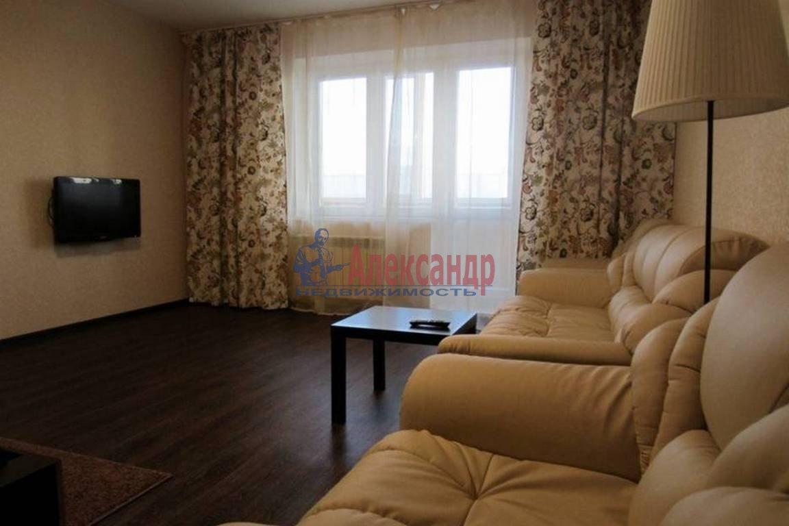 1-комнатная квартира (41м2) в аренду по адресу Парголово пос., Михаила Дудина ул., 25— фото 1 из 2