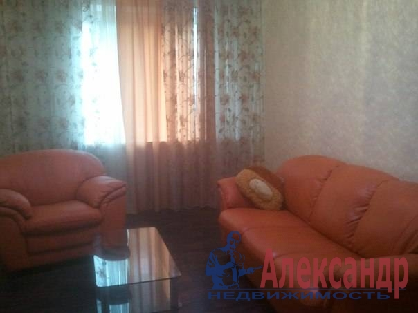 1-комнатная квартира (42м2) в аренду по адресу Большой Смоленский пр., 30— фото 1 из 4
