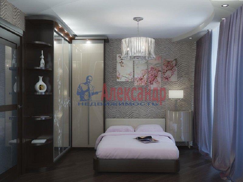 2-комнатная квартира (44м2) в аренду по адресу Новосмоленская наб., 6— фото 2 из 3