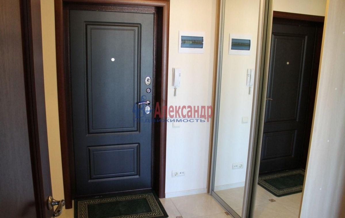 1-комнатная квартира (42м2) в аренду по адресу Ушинского ул., 2— фото 1 из 10