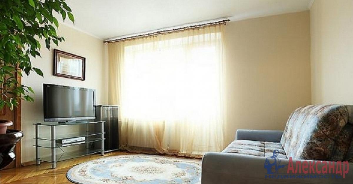 1-комнатная квартира (41м2) в аренду по адресу Дунайский пр., 14— фото 1 из 3