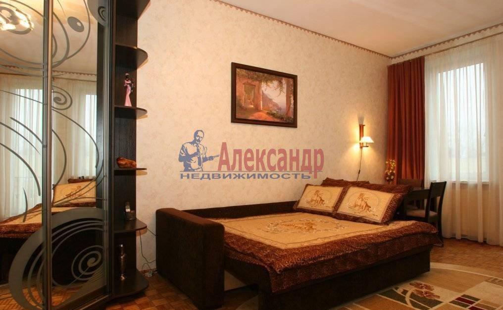 1-комнатная квартира (45м2) в аренду по адресу Науки пр., 19— фото 3 из 3