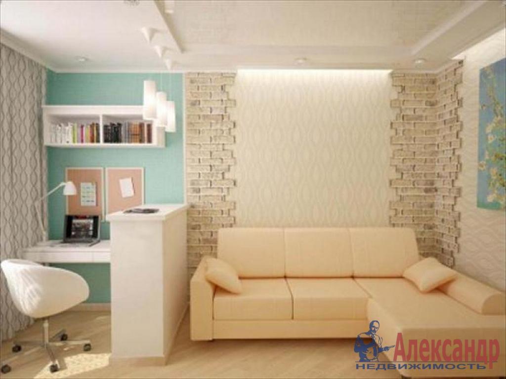 1-комнатная квартира (39м2) в аренду по адресу Кораблестроителей ул., 23— фото 1 из 3