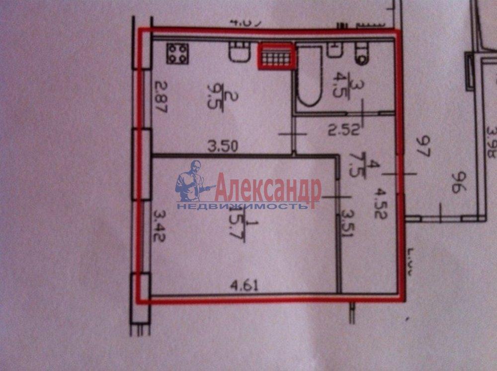 1-комнатная квартира (37м2) в аренду по адресу Гжатская ул., 22— фото 11 из 11