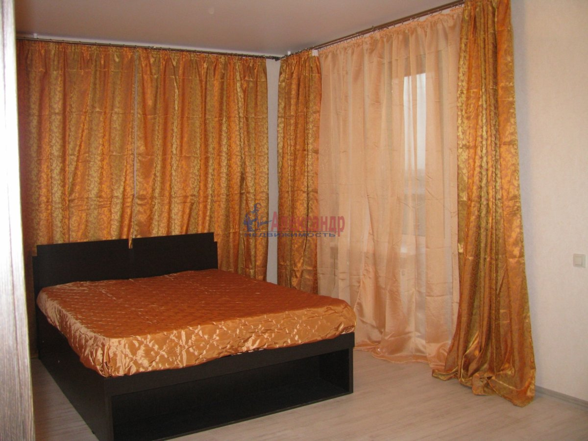 1-комнатная квартира (48м2) в аренду по адресу Дыбенко ул., 11— фото 3 из 10
