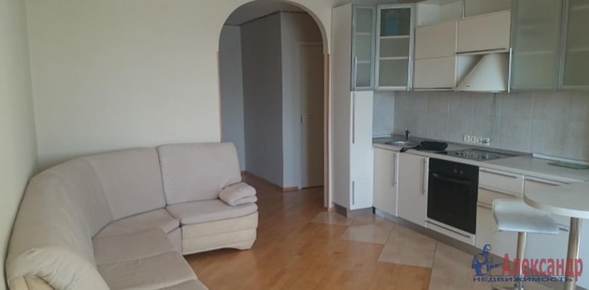 2-комнатная квартира (69м2) в аренду по адресу Шуваловский пр., 77— фото 3 из 4