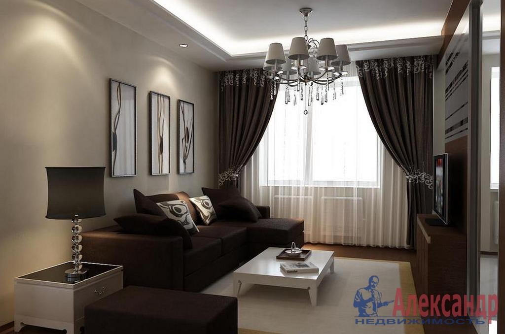2-комнатная квартира (60м2) в аренду по адресу Ленсовета ул., 88— фото 1 из 4