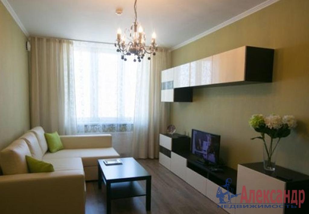 2-комнатная квартира (69м2) в аренду по адресу Шуваловский пр., 77— фото 1 из 4