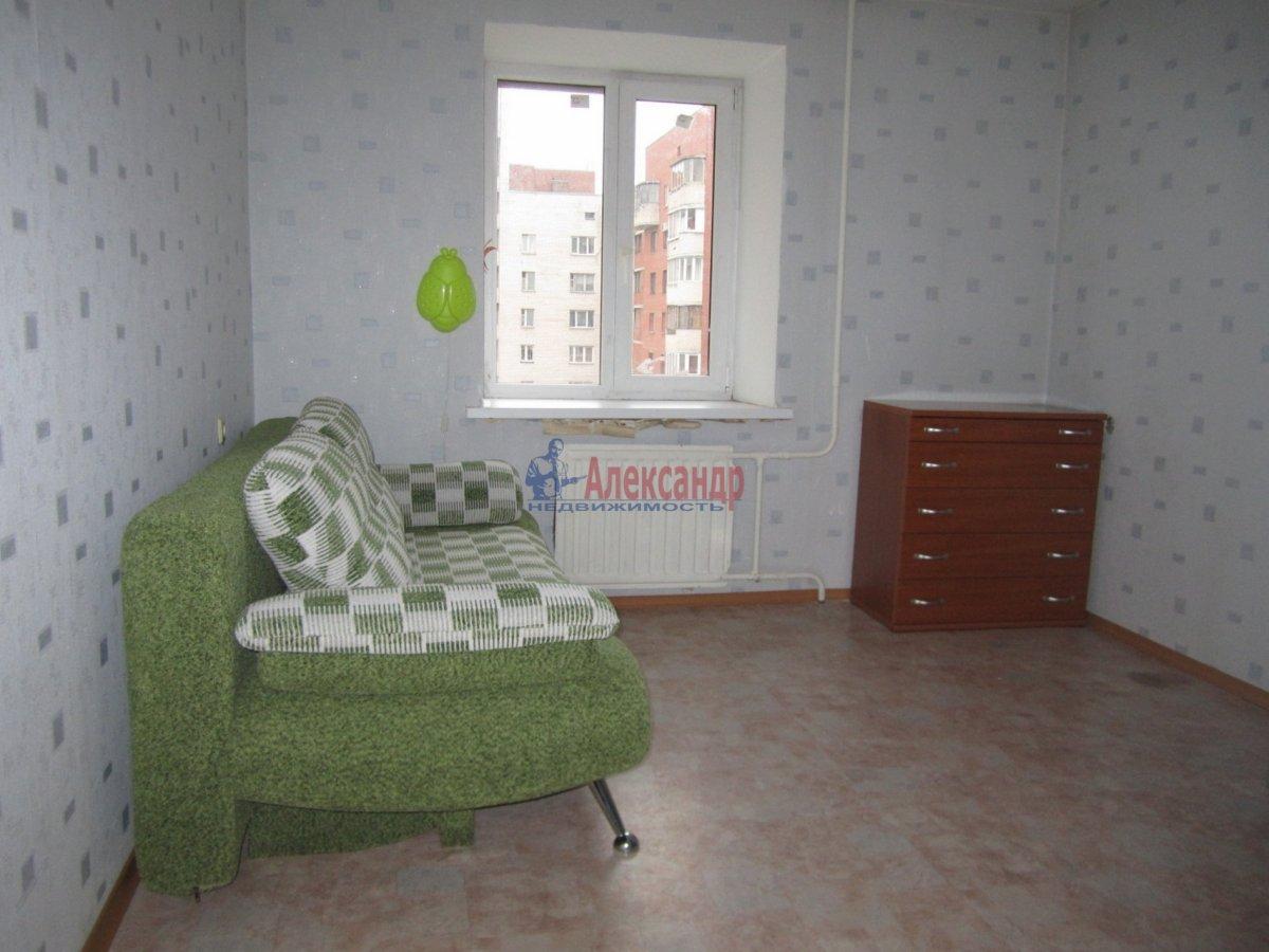 1-комнатная квартира (36м2) в аренду по адресу Кудрово дер., Областная ул., 1— фото 2 из 3