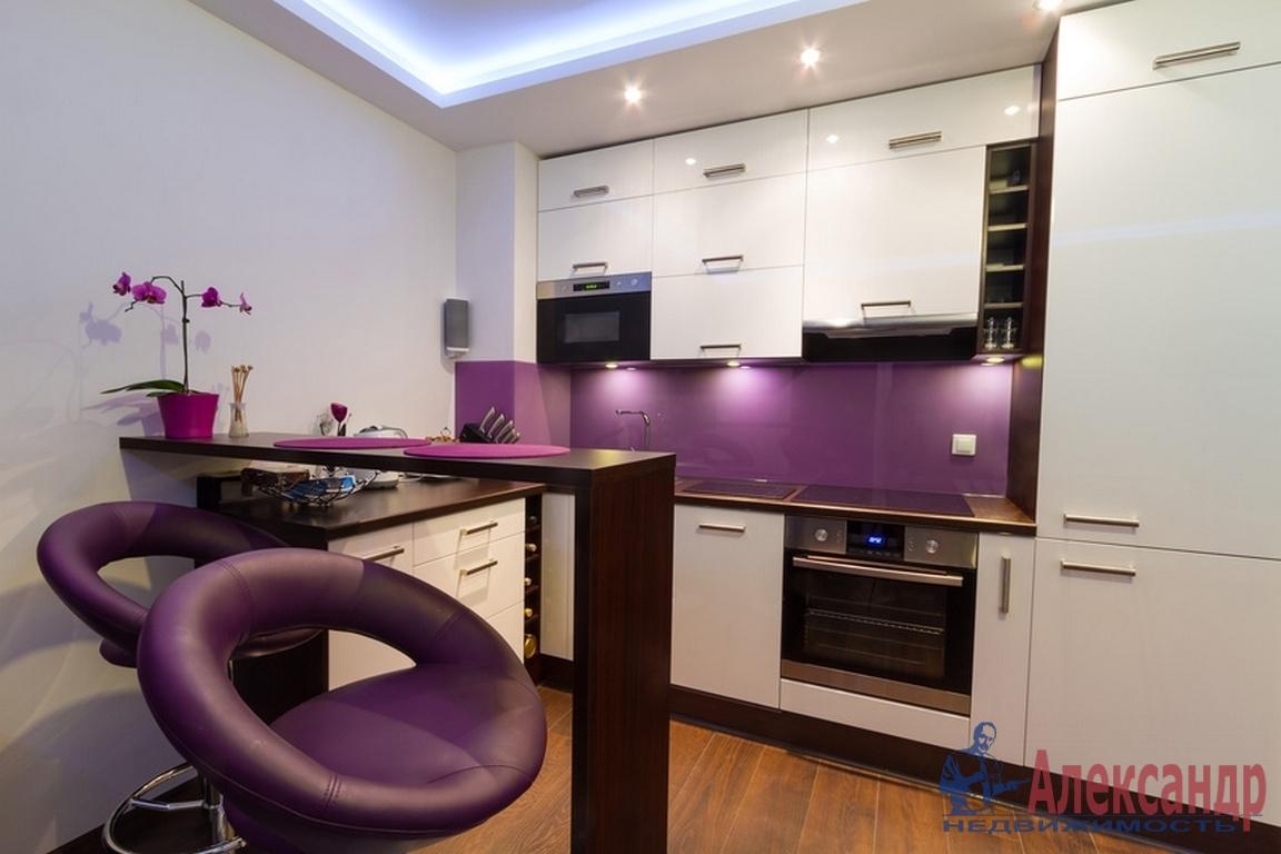 1-комнатная квартира (43м2) в аренду по адресу Приморский пр., 137— фото 2 из 2