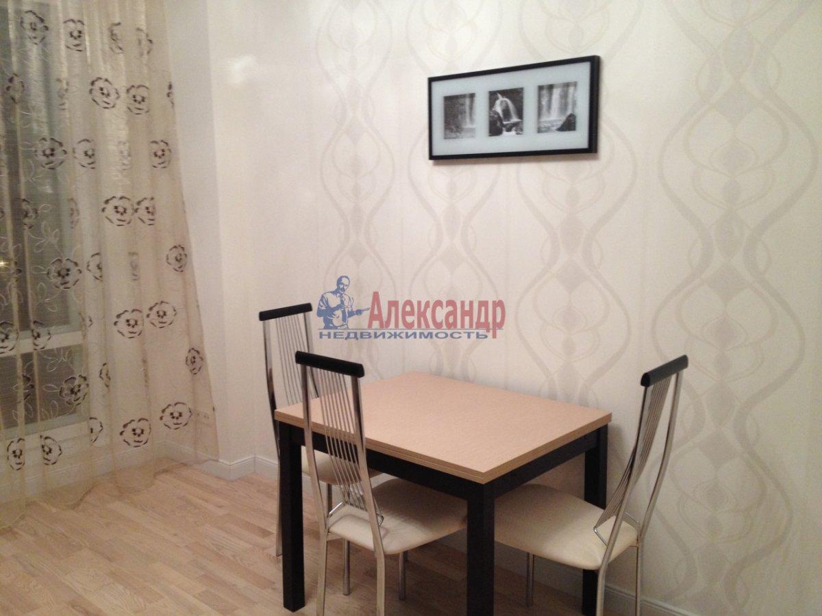 1-комнатная квартира (43м2) в аренду по адресу Загребский бул., 9— фото 3 из 11