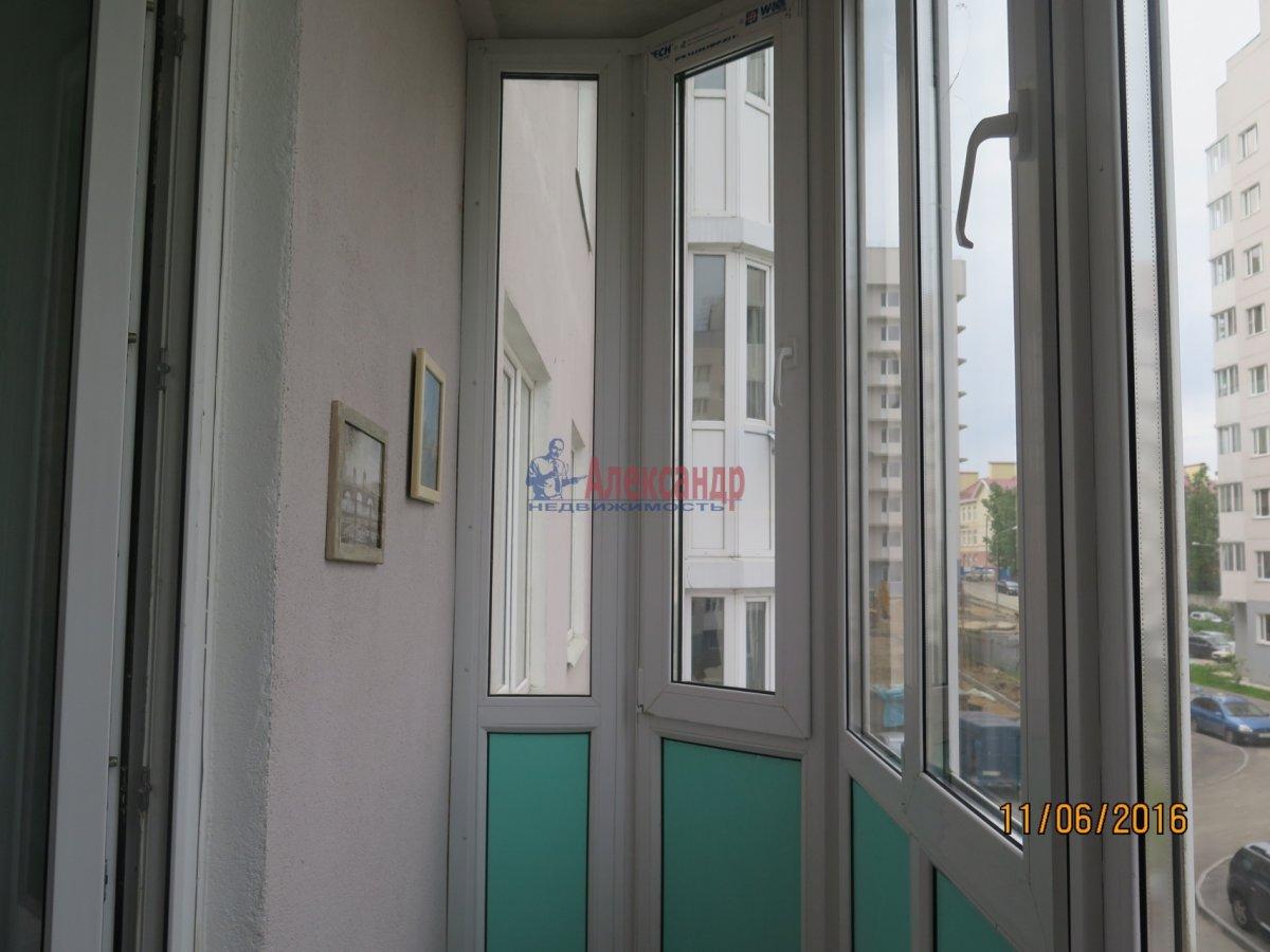 1-комнатная квартира (36м2) в аренду по адресу Ветеранов пр., 78— фото 5 из 5