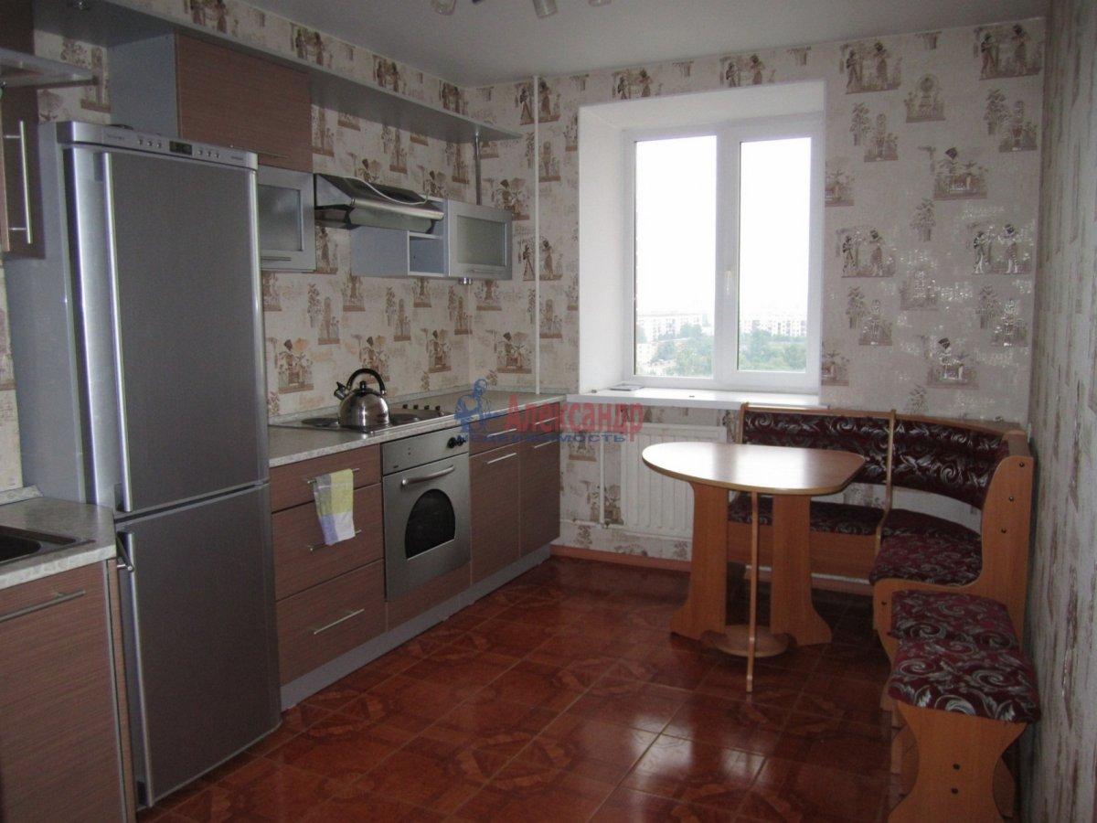 1-комнатная квартира (36м2) в аренду по адресу Кудрово дер., Областная ул., 1— фото 1 из 3