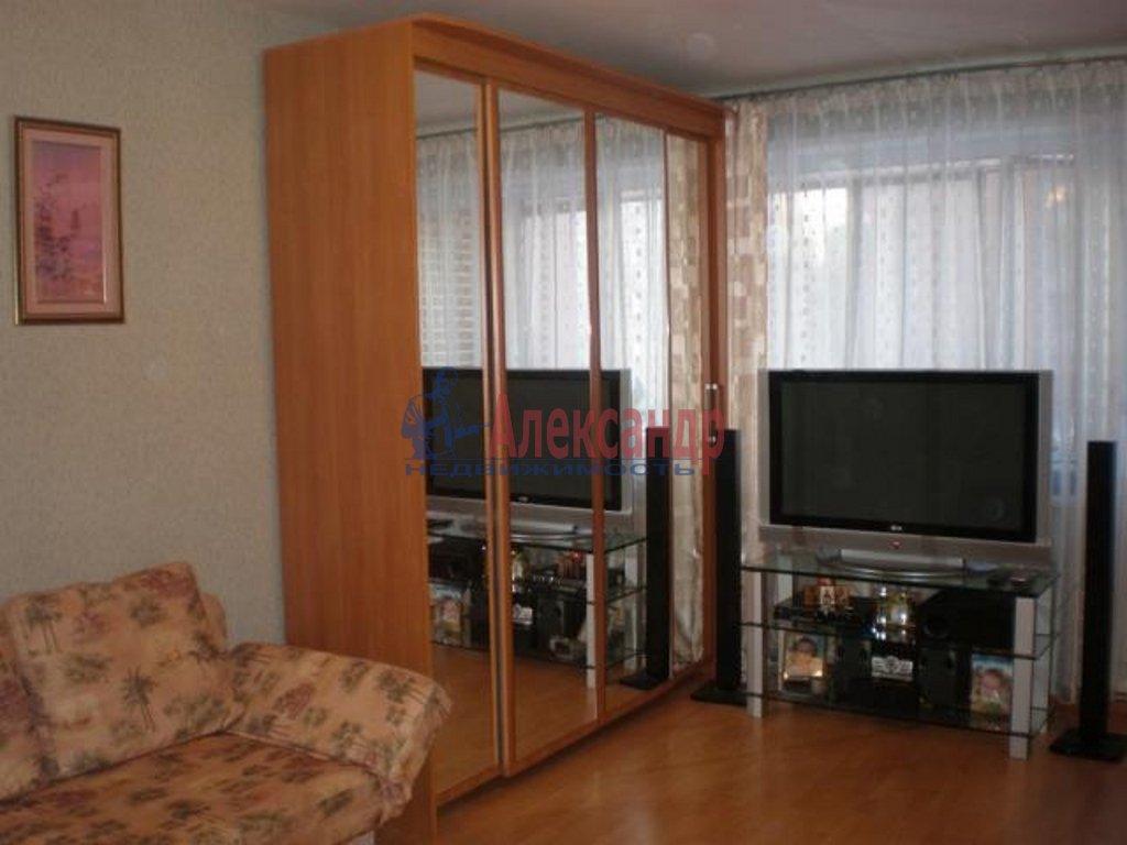 1-комнатная квартира (43м2) в аренду по адресу Сикейроса ул., 11— фото 1 из 5