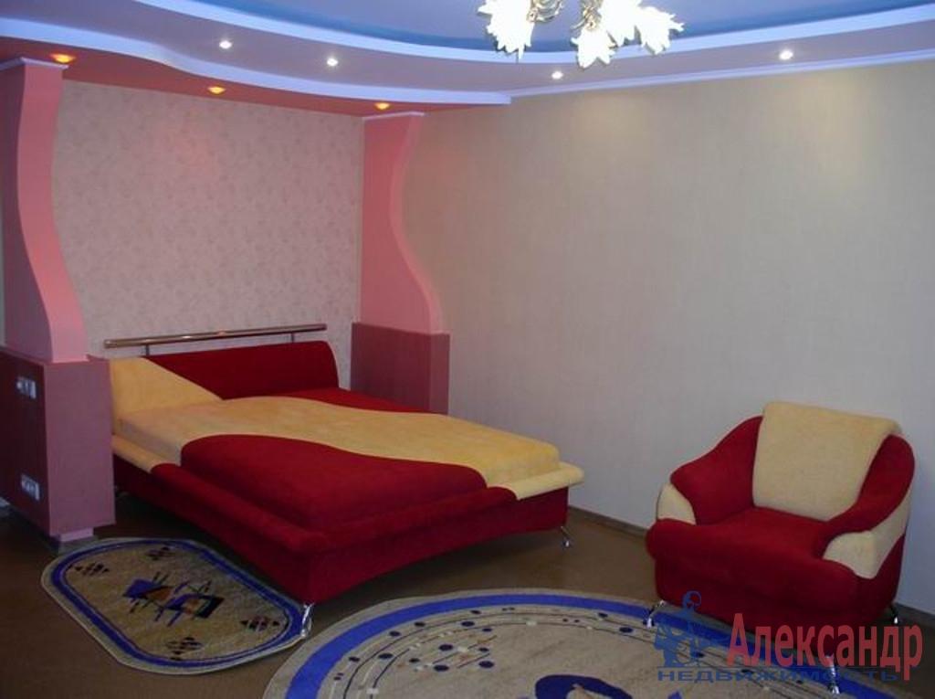 1-комнатная квартира (38м2) в аренду по адресу Новосмоленская наб., 1— фото 1 из 2