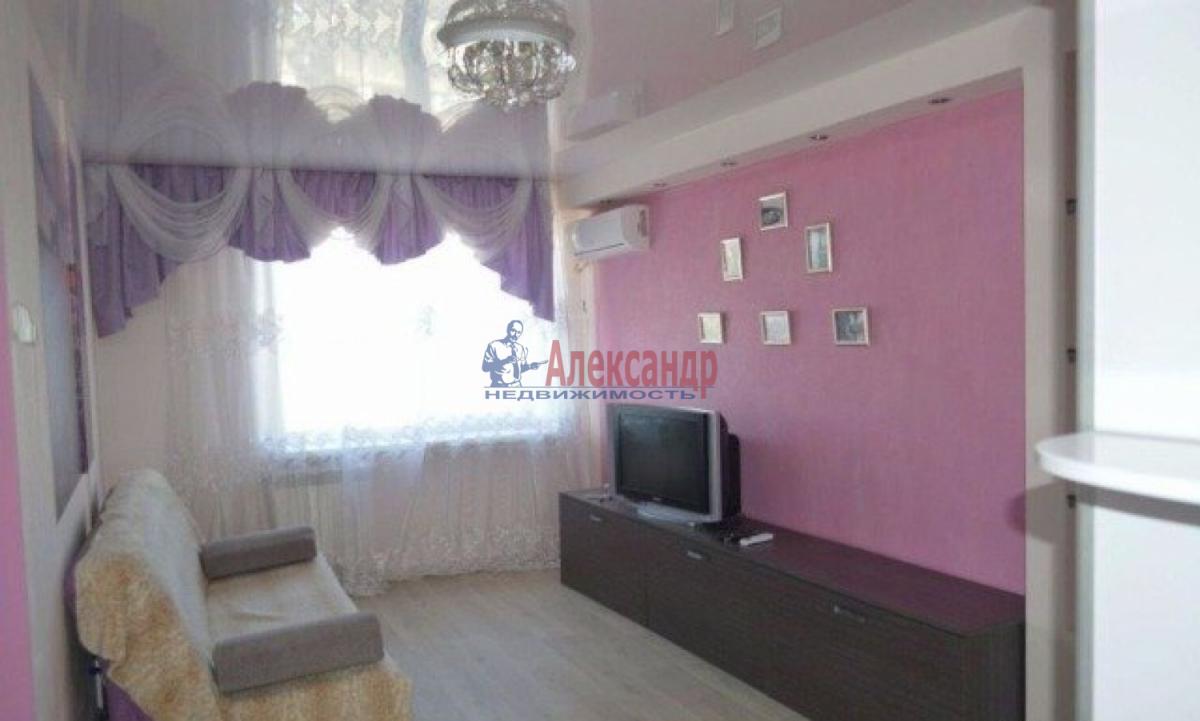 1-комнатная квартира (42м2) в аренду по адресу Ленинский пр., 88— фото 2 из 5